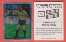 Oxford United Tommy Caton England
